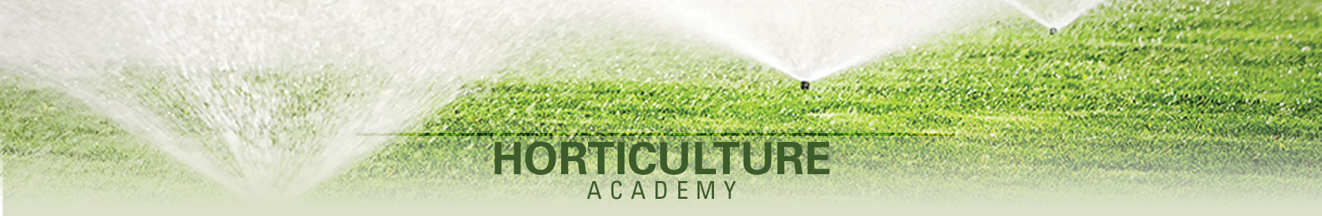 Horticulture Academy Banner