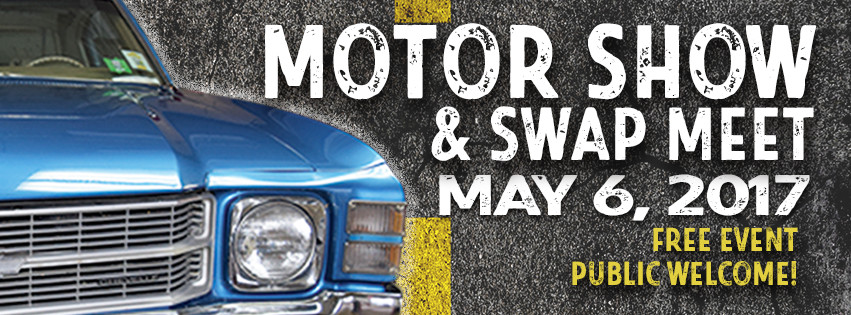 Motor Show - May 6 in the Ag/Auto Parking Lot