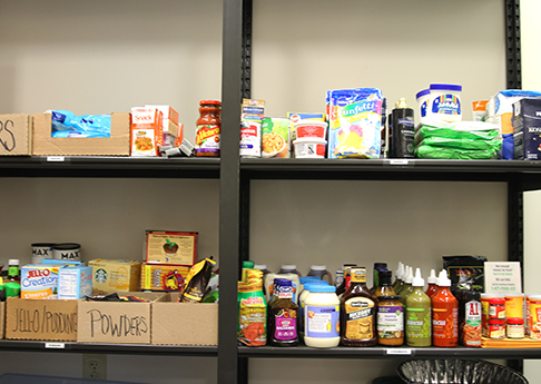 Chargers Cupboard (food pantry for students)