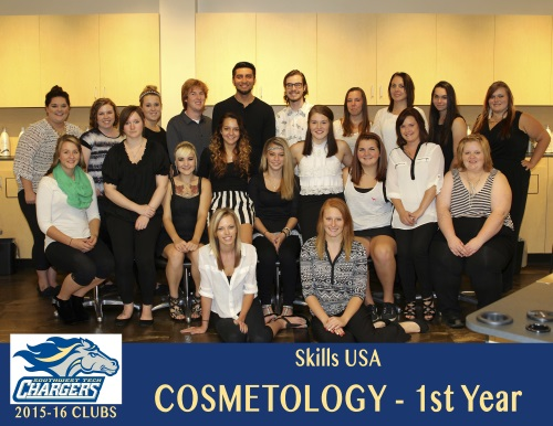 Cosmetology Skills USA 1st year students